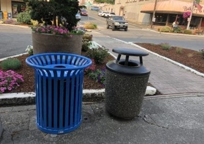 Recycling in Downtown