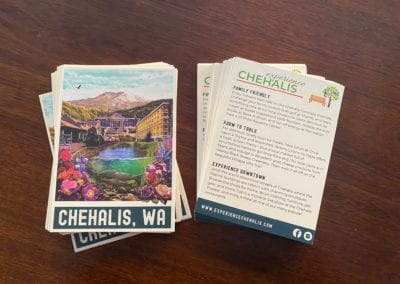 Chehalis Information Cards